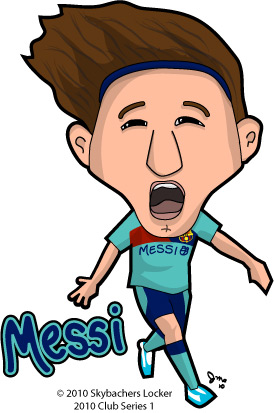 messi gets a double