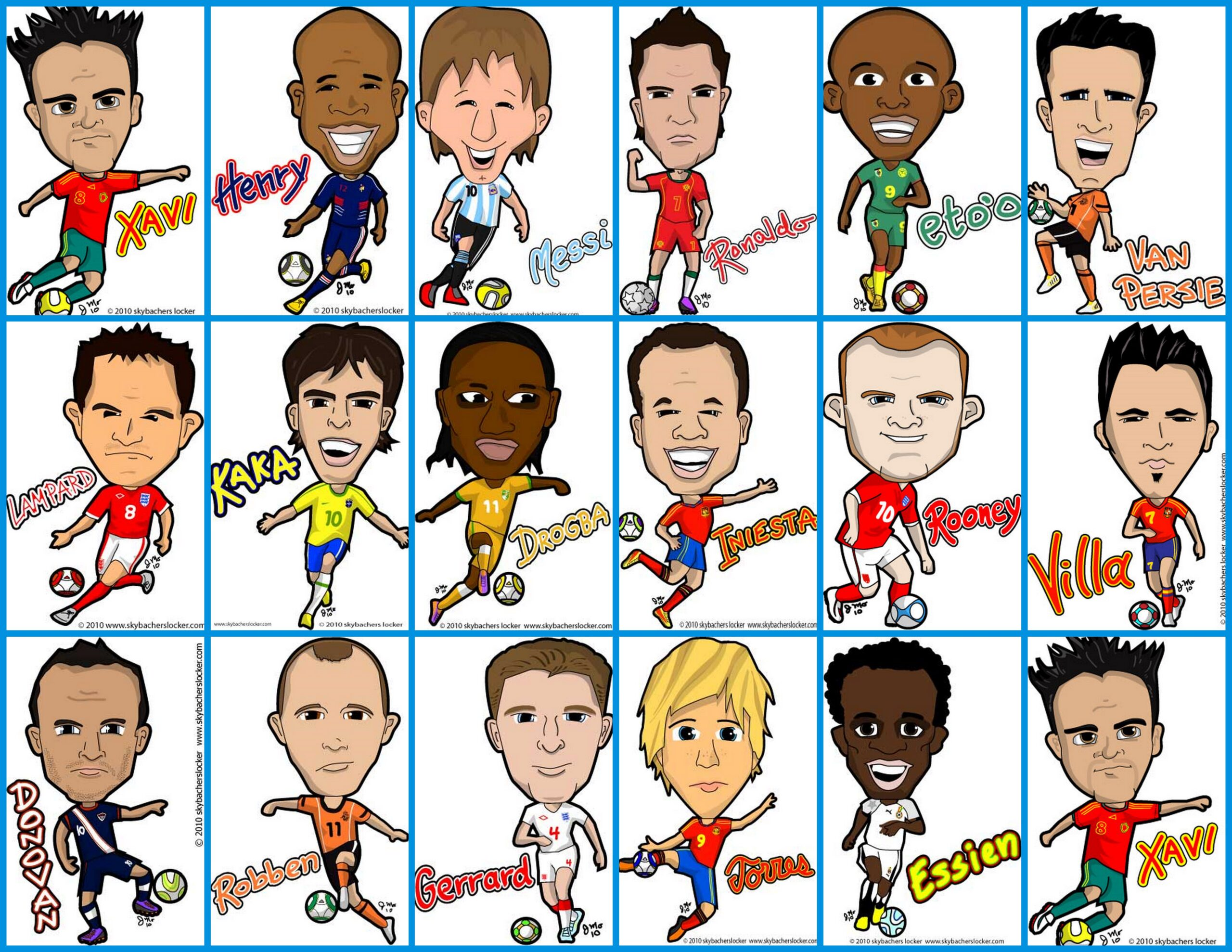 Premier League Cartoons on The Premier League