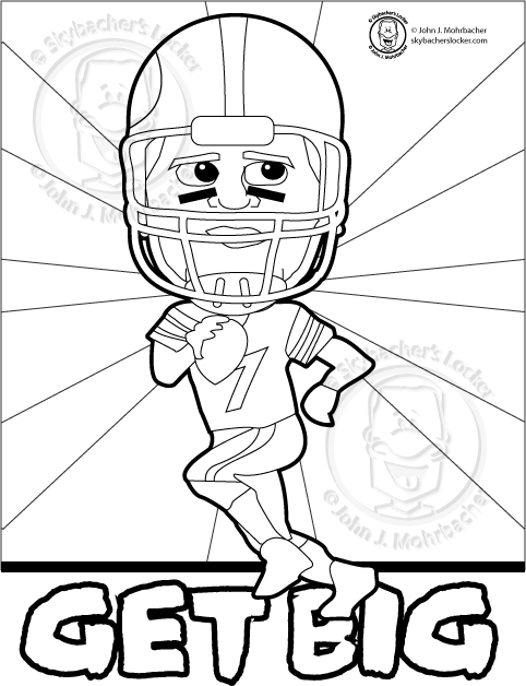 steelers free coloring pages - photo#22