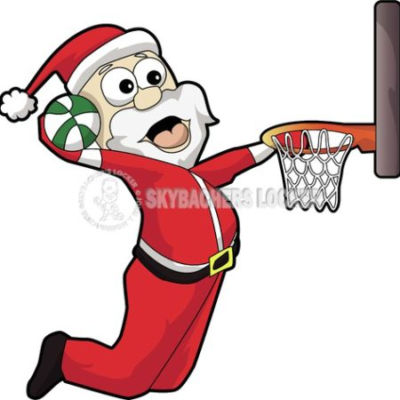 Dunking Santa - Skybacher's Locker