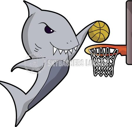 Dunking Shark - Skybacher's Locker