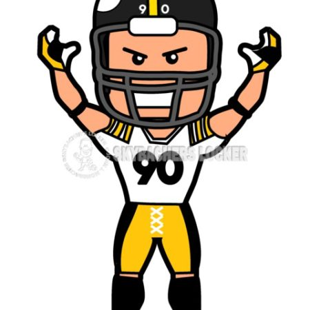 T.J. Watt Toon - Skybacher's Locker
