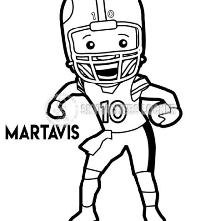 Martavis Bryant Coloring Page - Skybacher's Locker